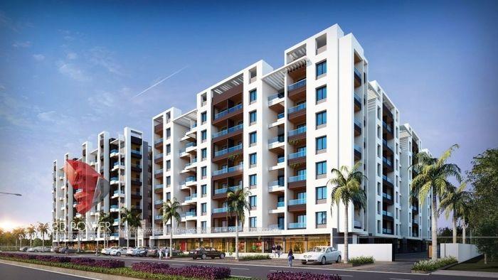Modern Apartment Elevation Design