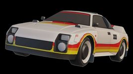 Toyota MR2 (222D) Group S low poly