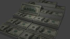 100 USD Money Stack