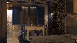 Aegean Taverna design and visualization project