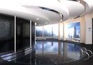 Indoor swimming pool concept
