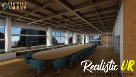 360-degree Realistic VR Conference Room of virtual reality real estate companies by real estate vr app, Liverpool – UK