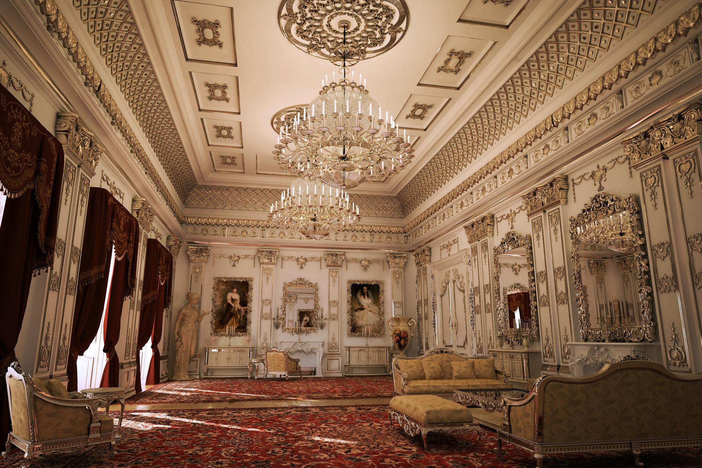 Buckingham Palace Cgtrader Com