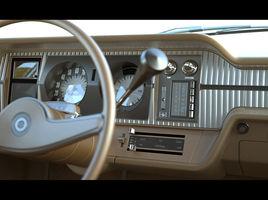 1972 AMC Matador Interior