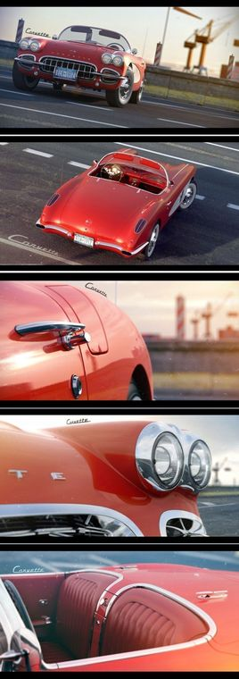 Corvette C1 By Piotr Tatar