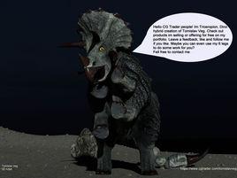 Dino Hybrid Triceropion