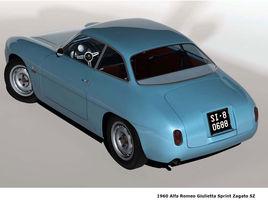 1960 Alfa Romeo Giulettta Sprint Zagato SZ