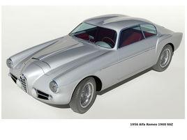 1956 Alfa Romeo 1900 SSZ Zagato