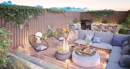 Wyndham resideces rooftop garden