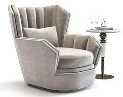 hemingway 3D Hemingway Armchair