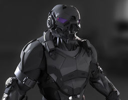 3D model Cybernetist 2