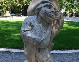 Mirabell Palace Salzburg - Dwarf with 3D printable model 1