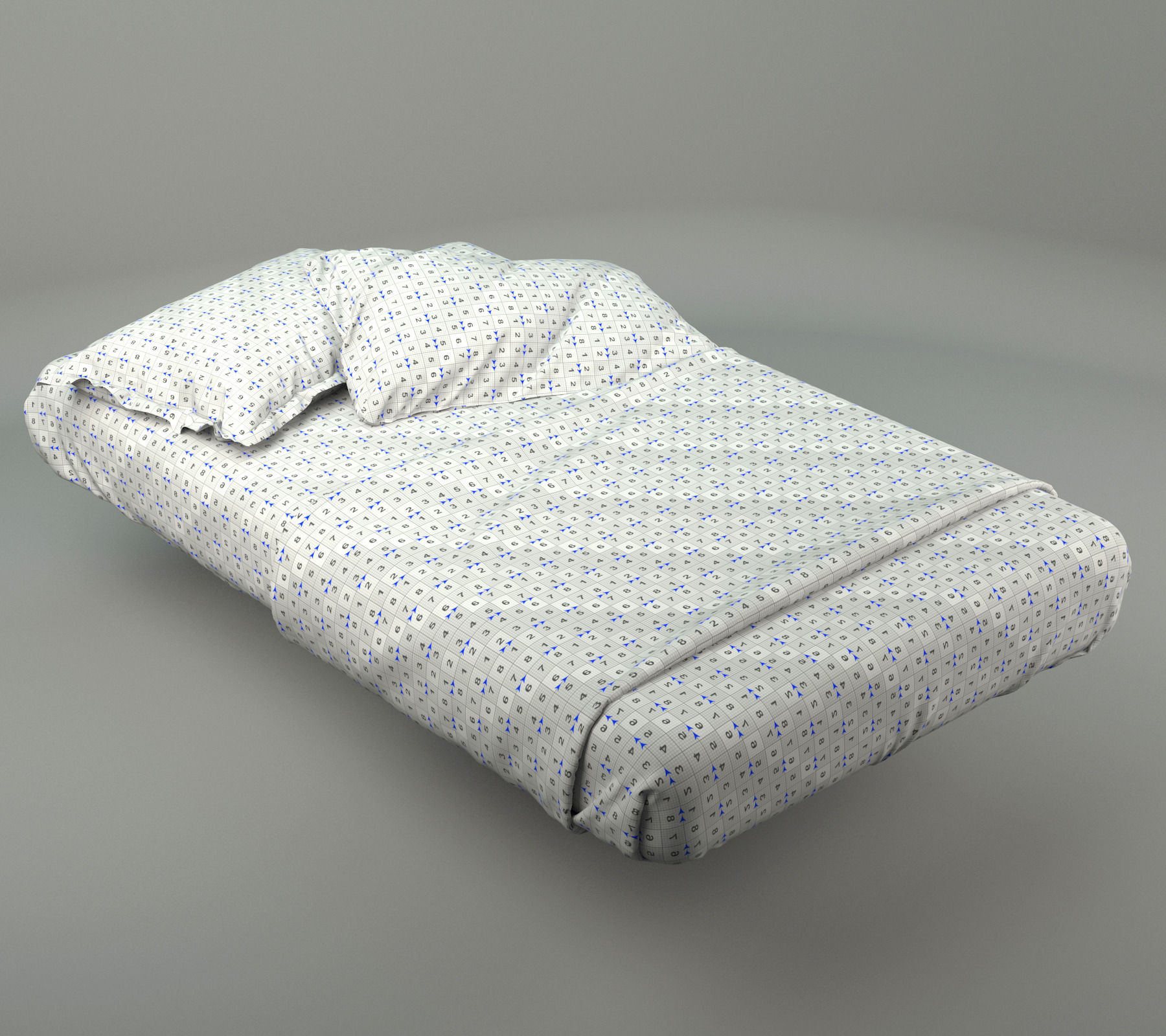 Kids Bedroom 3d Model bed linen arca young yachting 3d | cgtrader