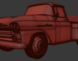 chevrolet apache 58 3D print model