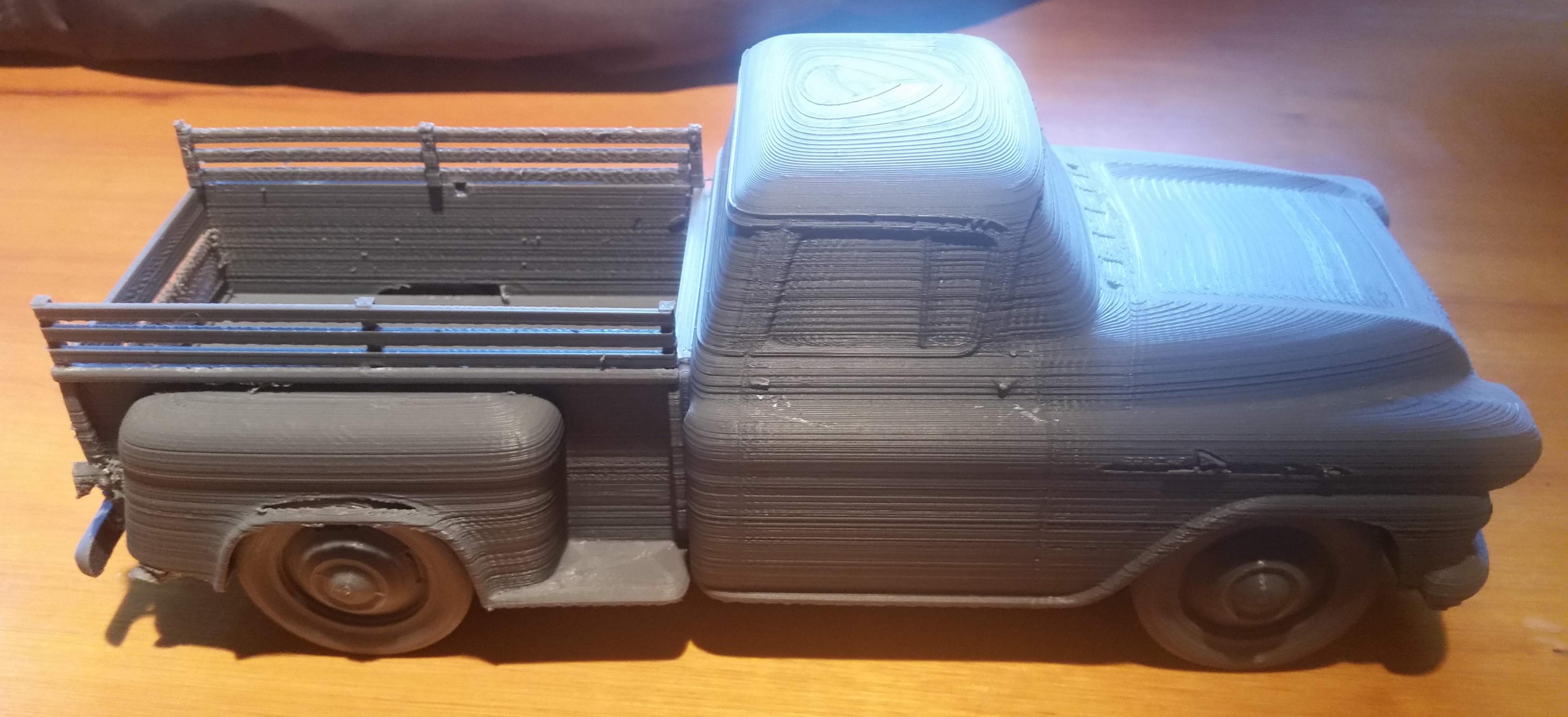 chevrolet apache 58 3d print model   cgtrader