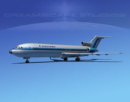 Boeing 727-200 Eastern Airlines 3 3D