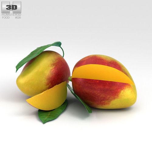 mango 3d model max obj mtl 3ds fbx c4d lwo lw lws 1