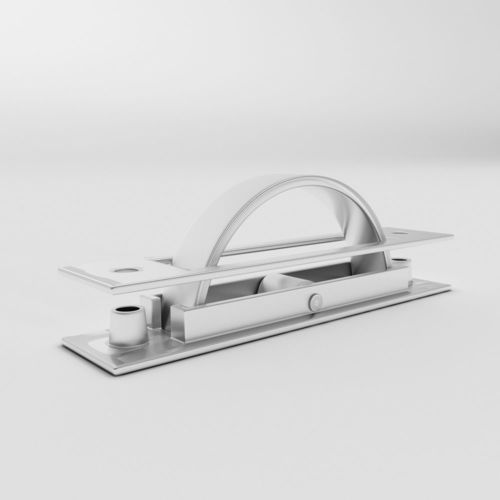 concealed handle 3d model max obj mtl fbx 1