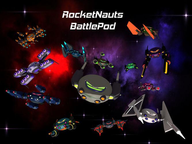 Rocketnauts BattlePod Series