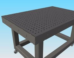DIY - High Precision Welding Table - 3D printable model 4