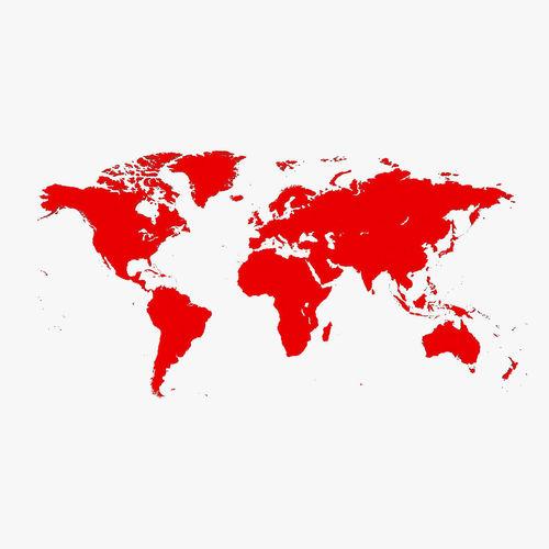 world map simple 3d model obj mtl 3ds fbx c4d 1
