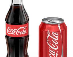 Coca-Cola 3D asset
