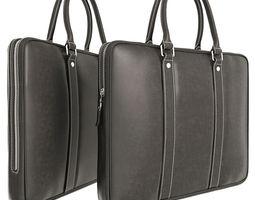 Briefcase Leather 3D model