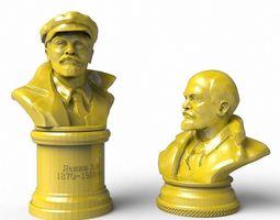 Vladimir Lenin 3d model stl obj