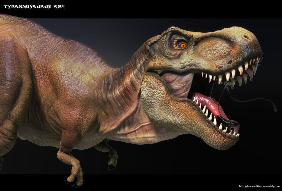 High Poly T-Rex Ztool