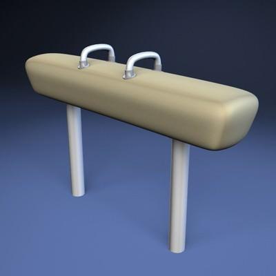 Olympic Pommel Horse3D model