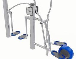 3D asset VR / AR ready Playground Equipment 110