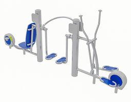 Playground Equipment 109 3D asset