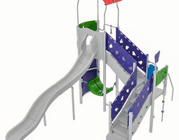 Playground Equipment 024 3D model