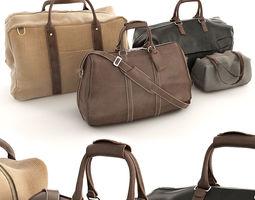 Bags Set 3D model