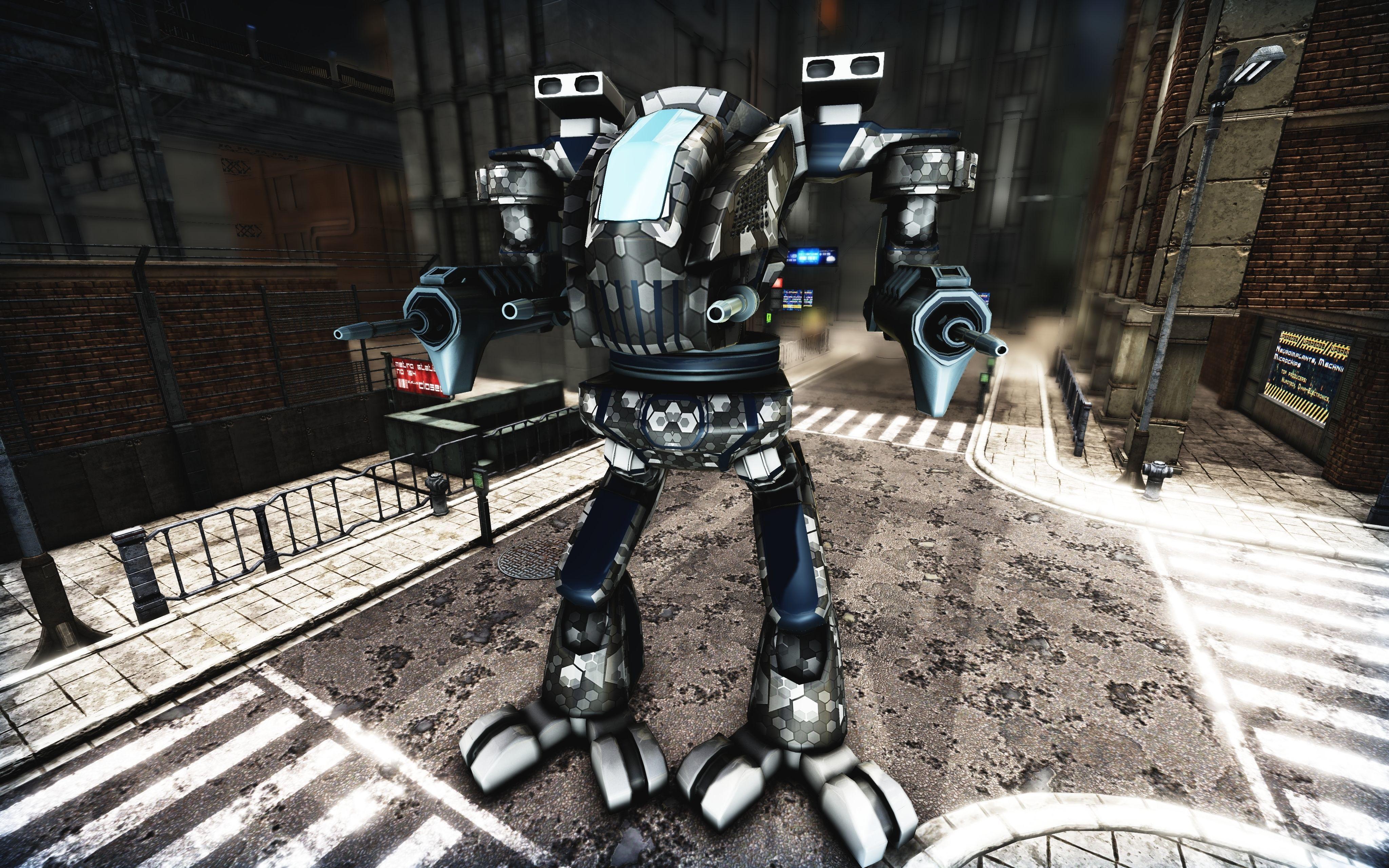 Mech Titan Plasma Rigged | 3D model