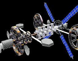 project avagraha - an space explorer 3D model