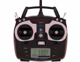 Tactic TTX600 6 Channel Transmitter and Receiver 3D