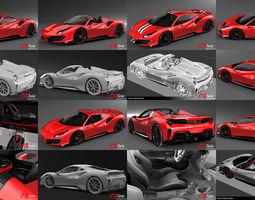 Ferrari 488 Pista Collection 3D