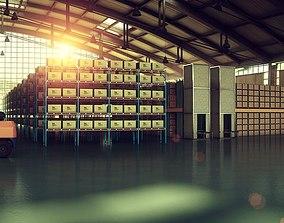Warehouse 001 3D model