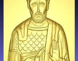 3D print model Icon of Ioann Warrior