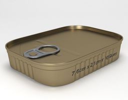 preserve tin can type5 3D