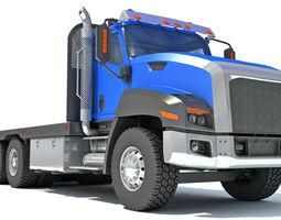 platform Flatbed Truck 3D model
