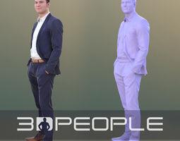 3D asset Marcel 10308 - Standing Business Man