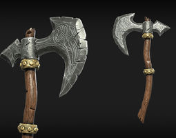 Stylized Weapons 3D model