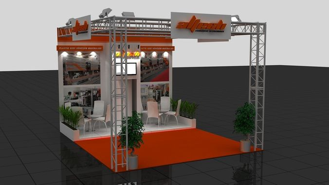 Wg Exhibition Stand3D model