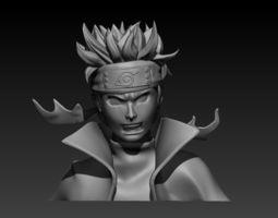 Naruto s Bust 3D printable model