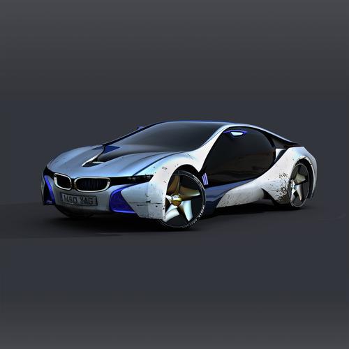 Sport car3D model