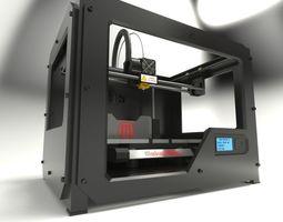 3d printer model - makerbot