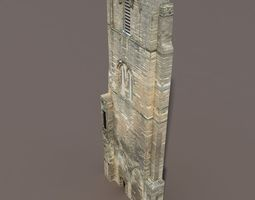 Castle Ruin 3 Low Poly 3d Model 3D Model