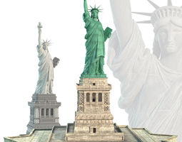 3d statue of liberty
